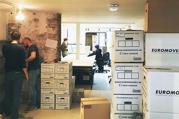 Unser Büro in Rotterdam zieht um!