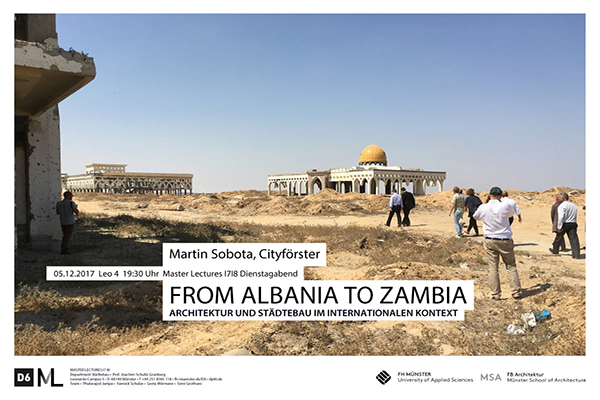 From Albania to Zambia. Lecture FH Münster